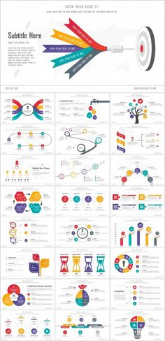 Charts Infographics PowerPoint templates – The highest quality PowerPoint Templates and Keynote Web Design, Layout Design, Chart Design, Design Blog, Slide Design, Creative Powerpoint, Powerpoint Presentation Templates, Keynote Template, Infographic Powerpoint