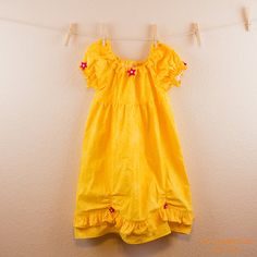 Belle Everyday Princess Dress  MADE TO ORDER  by twosnugglebugs, $40.00