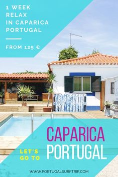 Enjoy a relax week in Portugal & stay in carefully selected accommodation with top surf spots ! What is included: 7 nights accommodation with breakfast Surf House, Beach House, Surf Trip, Bed Linens, Wi Fi, Towels, Costa, Portugal, Places To Go
