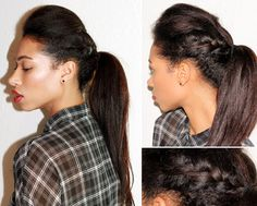 Sensational 1000 Images About Cute Hairstyles On Pinterest Relaxed Hair Short Hairstyles Gunalazisus