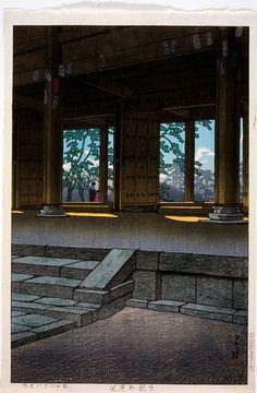 Kawase Hasui, Kyoto, Chion-in, 1937