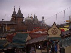 Mercado Izmailovski   Ismaylovskoye Shosse near Vodka museum, Partinskaya metro