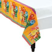 Yo Gabba Gabba Table Cover - Party City for food table.