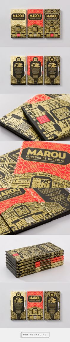 Marou for La Grande Épicerie de Paris — The Dieline - Branding & Packaging... - a grouped images picture - Pin Them All