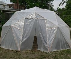 Geodesic dome greenhouse?