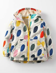 Sherpa Lined Anorak 35134 Clothing at Boden