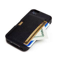 ThinkGeek :: Q Card Wallet Case For iPhone $39.99