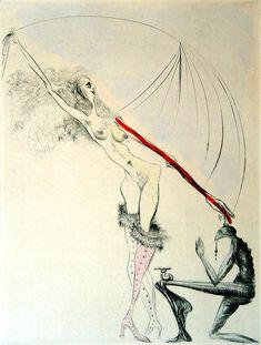 Salvador Dali, La Botte Violette