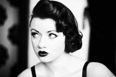Vintage pinup   by *highlightshadow