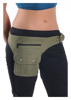 UTILITY BELT  assorted colours fanny pack Pocket by GekkoBoHotique