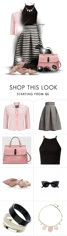"""""""A Little Pink"""" by rockreborn ❤ liked on Polyvore featuring Phase Eight, Rumour London, Gucci, Retrò, Dorothy Perkins and House of Harlow 1960"""