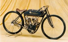 The 1909 Reading Standard at WTT is considered the world's most intricate early American racing motorcycle.