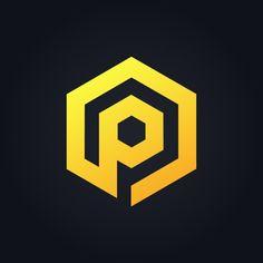 Icon Design, P Logo Design, Lettering Design, Letter Vector, Letter Logo, Feliz Eid Mubarak, Polygon Logo, P Letter Design, Carta Logo