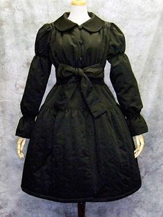 Ribbon Quilting Coat/ See more at http://www.cdjapan.co.jp/apparel/new_arrival.html?brand=MMM #gothic lolita #lolita fashion