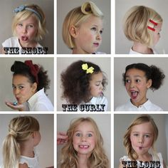 Because they're worth it! : Hair styles for your kids | Chalkboard Living