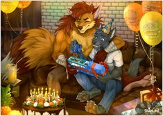 Commission from Zyf (OTF/Arsenicum) for Cooper Birthday ^_^ -- Art by me