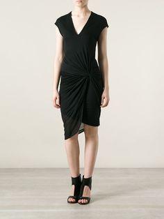 Helmut Lang Twist Detail Dress - O' - Farfetch.com