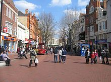 View east of Broad Street in 2008 Broad Street, Reading.jpg