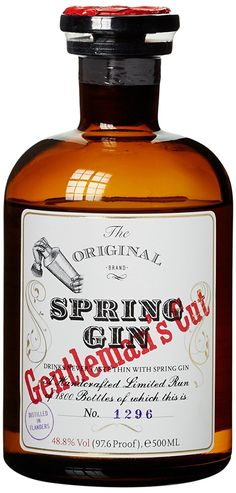 Spring Gentleman's Cut Gin (1 x 0.5 l)