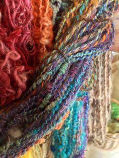 spin for Saori weaving