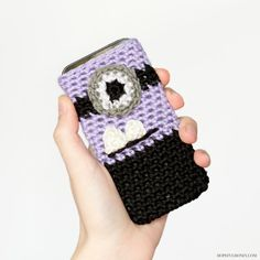 Evil Minion Inspired Phone Case « The Yarn Box The Yarn Box