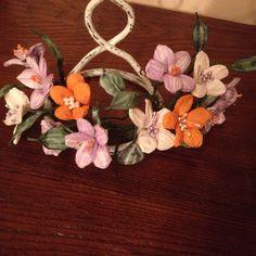 Paper flowers detail