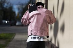 Ivory and Pastel Pink on the Streets of Lodz During Fashion Week Poland - Lodz Street Style-Wmag