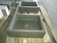 Lavabo per bagno in basalto