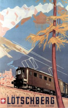 Eric Hermes 1949 Lötschberg, Switzerland Schweiz Suisse