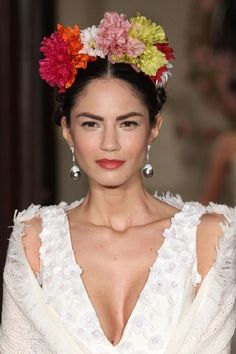 frida kahlo day of the dead | Volvemos a las flores! Esta vez nos decantamos por el color, mucho ...