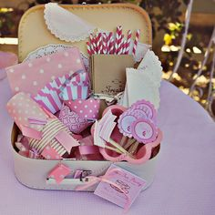 birthday party to go.service project bring it to someone and share together bring to kids in hospital that can't leave OR nursing homes. Party In A Box, Party Kit, Tea Party, Party Ideas, Party Packs, Birthday Box, Birthday Parties, Baby Shower, Childrens Party