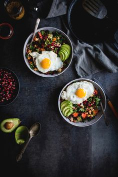 Miso Veggie Breakfast Bowl #recipe #breakfast #healthy
