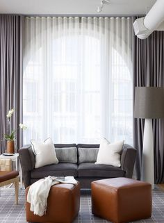 60 Incridible Tall Curtains Ideas for Your Home Living Room Design Living Room Drapes, Home And Living, Classic Curtains, Home Living Room, Living Room Modern, Home Curtains, Living Room Windows, Beautiful Living Rooms, Room Design