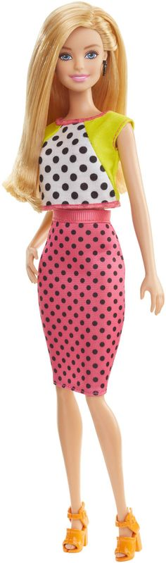 Barbie® Fashionistas® Doll - Dolled Up in Dots, 2016 collection