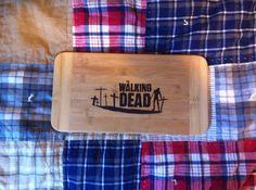 Walking Dead Cutting Board on Etsy, $22.00 CAD
