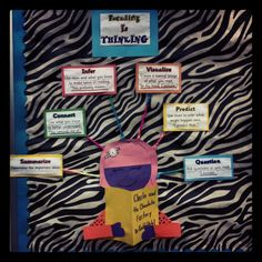 Reading is Thinking Bulletin Board made by yours truly!