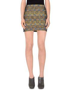 Mini skirts by Sessun, Women's, Size: 8, Ocher