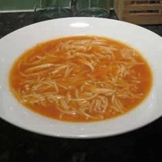 soupe tomates vermicelles thermomix