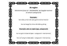 Komma_regler6_skh 13 Year Olds, Sheet Music, Study, Kids, Inspiration, Grammar, Trier, Deutsch, Toddlers