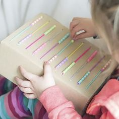 How to make an upcyled DIY Abacus! A cute and educational diy craft... love it! To make your own head to - letsdosomethingcrafty.com/cheap-quick-easy-make-upcyled-diy-abacus/