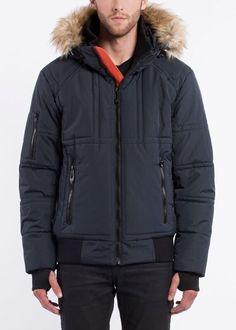NOIZE- men- CALEB - navy Canada Goose Jackets, Winter Jackets, Navy, Stuff To Buy, Black, Fashion, Winter Coats, Hale Navy, Moda