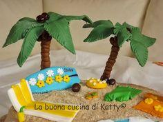 La buona cucina di katty: Torta: beach holiday