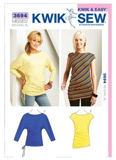 K3694   Kwik Sew Patterns