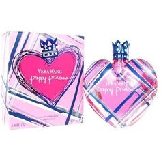 Vera Wang Preppy Princess Women's 3.4-ounce Eau de Toilette Spray ($30) ❤ liked on Polyvore featuring beauty products, fragrance, vera wang fragrance, floral perfumes, vera wang perfume, vera wang and edt perfume