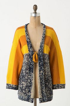 personally i'd want calmer colours, but i like the design a lot    Redonda Cardigan #anthropologie