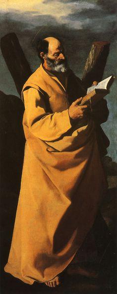 Francisco de Zurbarán  Saint Andrew, ca. 1635-40