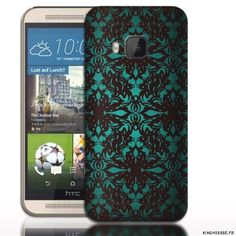 Coque HTC ONE M9 Art gothique. #HTC #M9 #Gothique #Vert #Coque