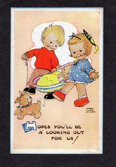 MABEL LUCIE ATTWELL postcard, 1960 | eBay