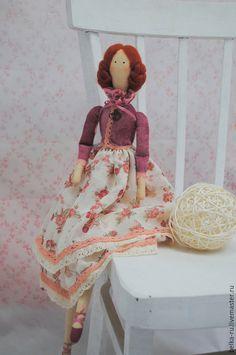 Куклы Тильды ручной работы. Ярмарка Мастеров - ручная работа. Купить Почти винтажная. Кукла в стиле Тильда. Handmade. Разноцветный