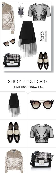 """""""Selection Personal"""" by ildiko-olsa ❤ liked on Polyvore featuring DKNY, Prada, Givenchy, Topshop, Karl Lagerfeld, women's clothing, women, female, woman and misses"""